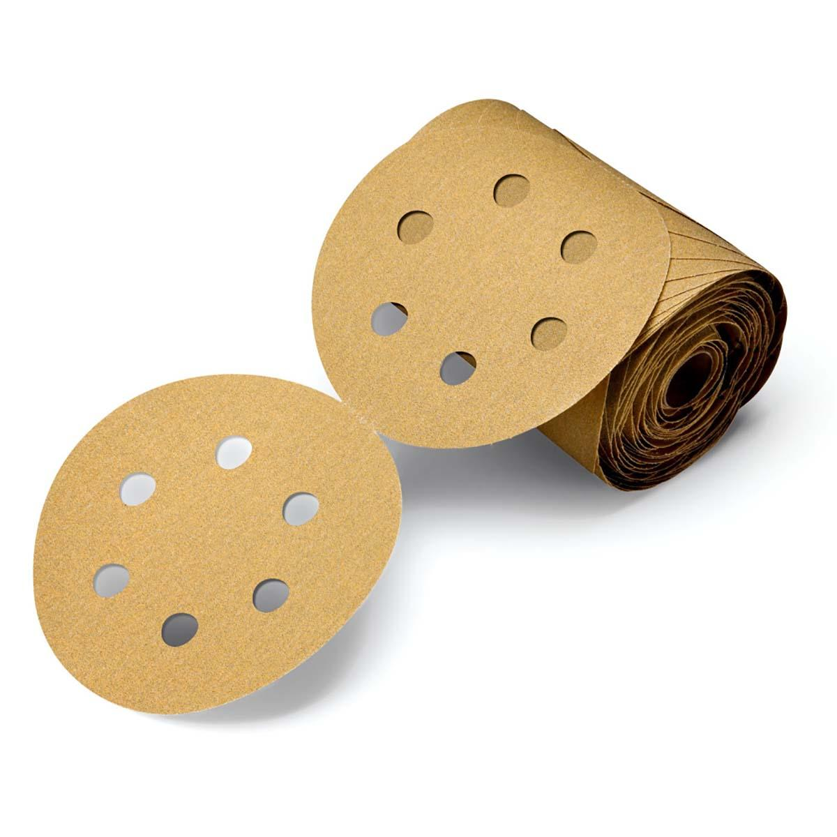 Manual Sanding Products 100 Discs per Roll 3M Stikit Film Disc ...